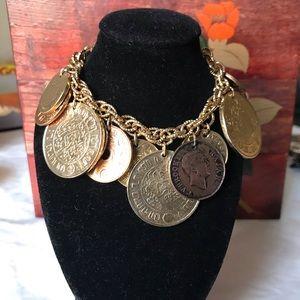 CORO COIN CHARM BRACELETS